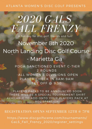 GaLS Fall Frenzy graphic