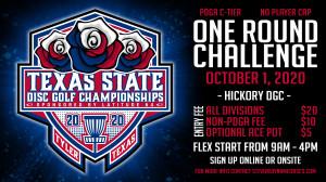 Texas States One Round Challenge @ Hickory graphic