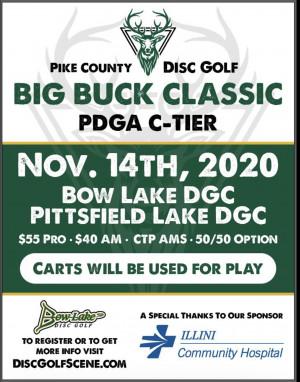 Pike County Big Buck Classic graphic