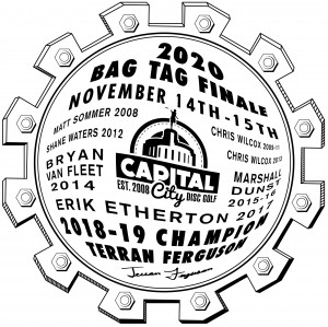 2021 CCDG Bag Tag Finale graphic