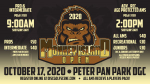 Dynamic Discs Presents The Monkey Island Open - PRO/INT Only graphic