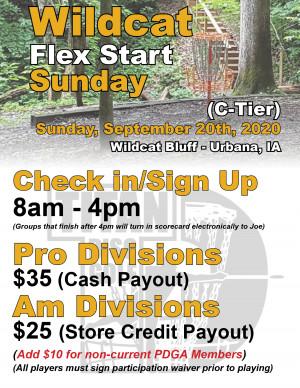 Wildcat Flex Start Sunday graphic