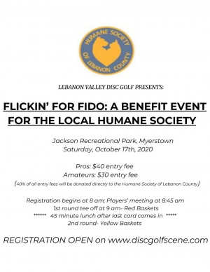 Flickin' For Fido: A Benefit Event for the Local Humane Society graphic
