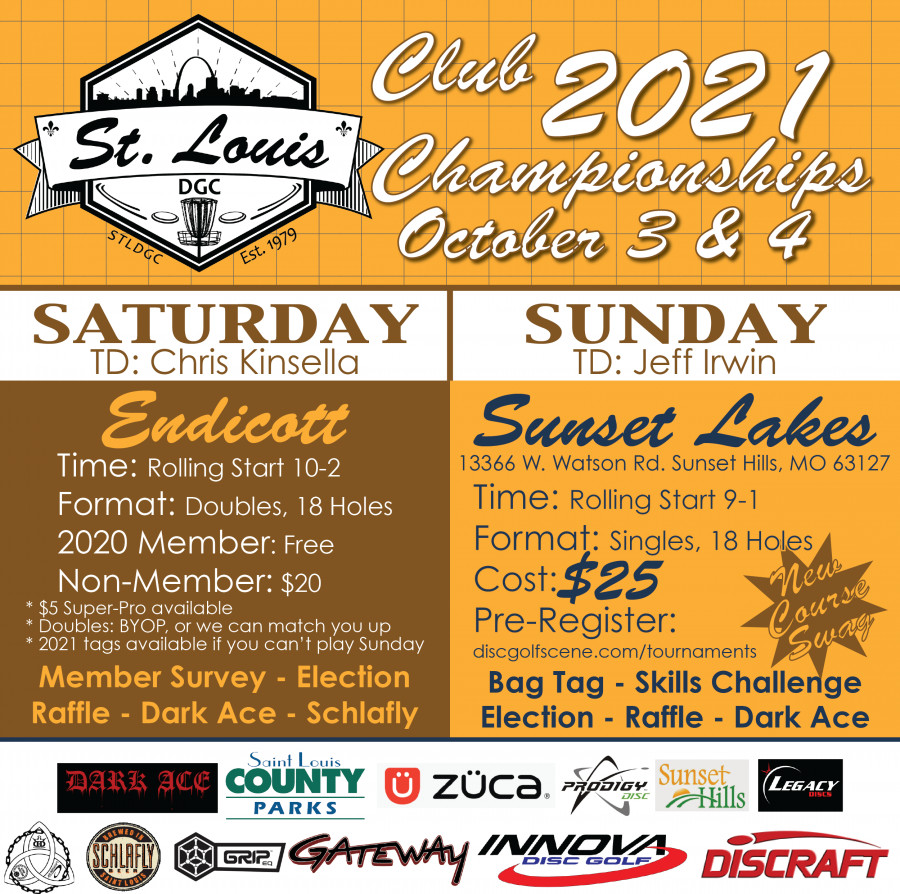 St Louis Club Championships 2020 River City Flyers St Louis Disc Golf Club Disc Golf Scene