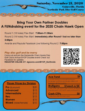 BYOP Chain Hawk Doubles at Northside Park graphic