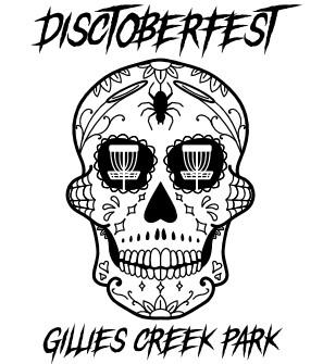 Disctoberfest sponsored by Savage Apparel graphic