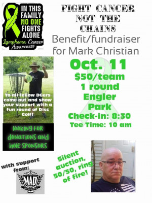 Fight Cancer Not The Chains: Benefit for Mark Christian graphic