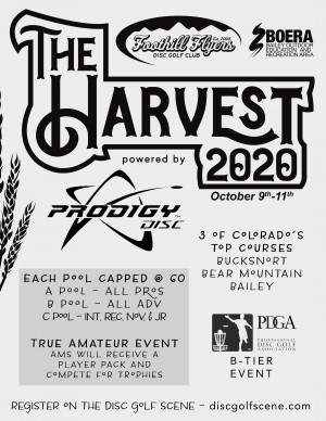 The Harvest Powered by Prodigy graphic