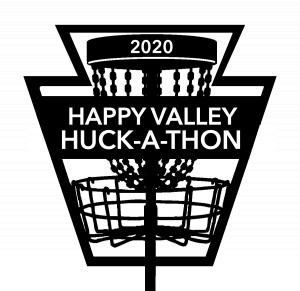 2020 Happy Valley Huck-A-Thon graphic