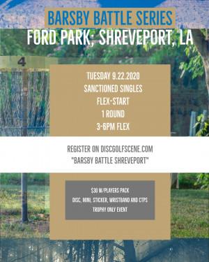 Barsby Battle Shreveport graphic