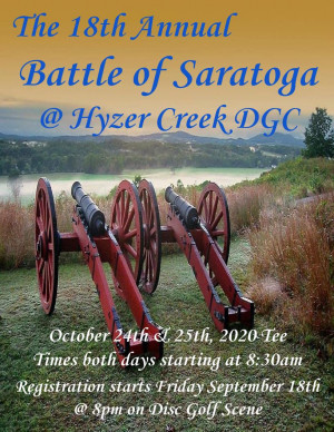 The Battle of Saratoga 18 Powered by Prodigy graphic