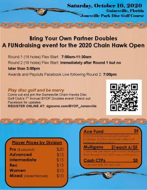 BYOP Chain Hawk Doubles at Jonesville graphic