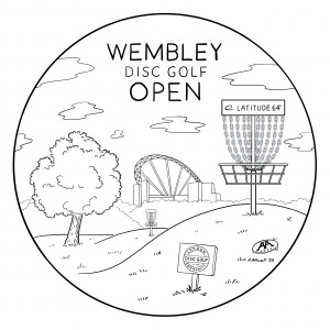 Wembley Disc Golf Open 2020 presented by London Disc Golf Community graphic