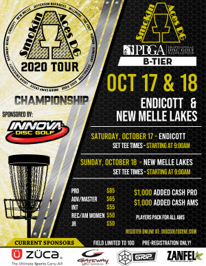 Smokin Aces 2020 TOUR Championship Driven by Innova graphic