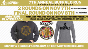 7th Annual Buffalo Run Presented by Discraft graphic