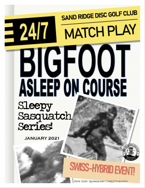 Sleepy Sasquatch Series 2021 graphic