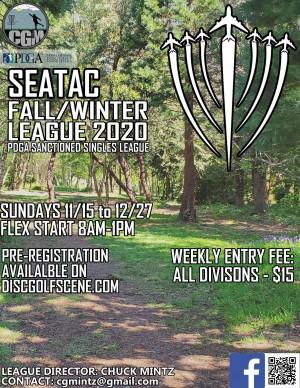 SeaTac Fall/Winter League 2020 - WEEK 1 graphic