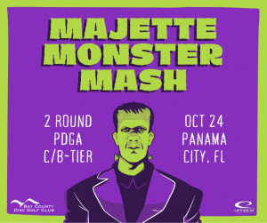 Majette Monster Mash presented by Latitude 64 graphic