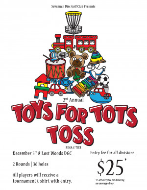2nd Annual Toys for Tots Toss graphic