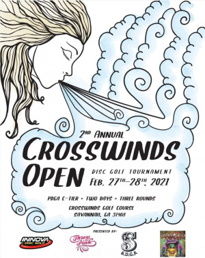2nd Annual Crosswinds Open Driven by Innova graphic