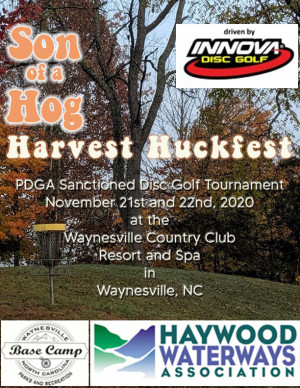 Son of a Hog Harvest Huckfest at The Waynesville Inn Golf Resort and Spa - Driven by Innova graphic