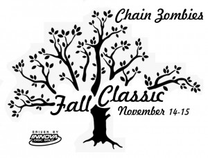 ChainZombies Fall Classic - Driven by Innova graphic