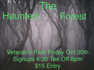 THE HAUNTED FOREST graphic