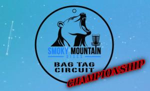 SMD Bag Tag Circuit CHAMPIONSHIP graphic