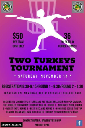 Two Turkeys Tournament graphic