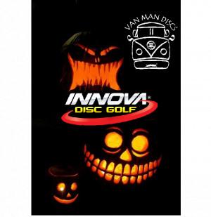 Van Man Discs Halloween Glow Extravaganza graphic