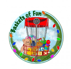 Baskets of Fun benefiting Toys for Tots graphic
