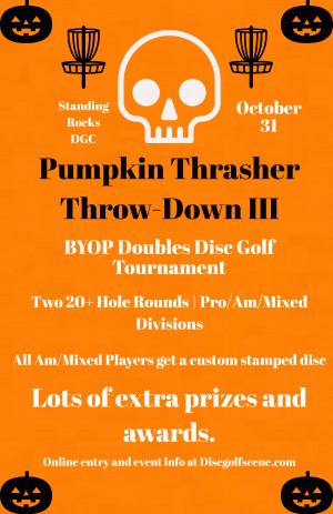 Pumpkin Thrasher Throw-Down III graphic