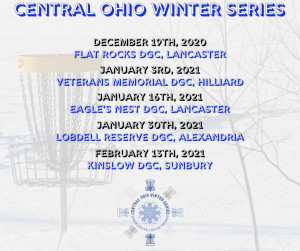Central Ohio Winter Series #5 - Sponsored by Six Sided Discs graphic