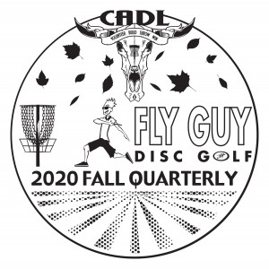 CADL Fall 2020 Quarterly Hosted by Fly Guy Disc Golf graphic