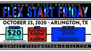 Dynamic Discs Flex Start Friday @ Veterans Park graphic