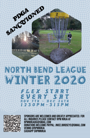 North Bend League Winter 2020 Week 6 graphic