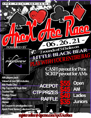 ApeX Ace Race graphic