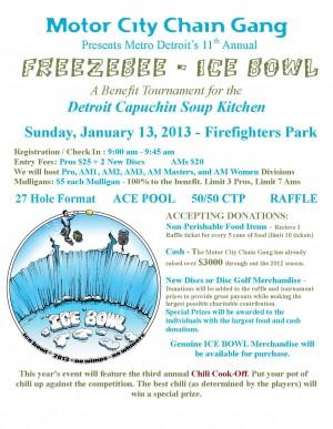 FREEZEBEE Ice Bowl Open graphic