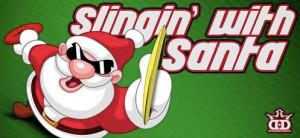 Slingin with Santa 3 presented by Latitude 64 graphic
