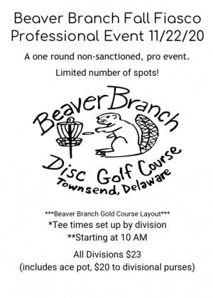 Beaver Branch Fall Fiasco Pro Event graphic