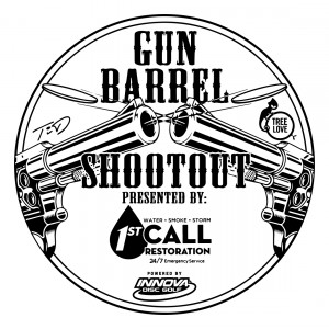 Gun Barrel Shootout presented by 1st Call Restoration and Innova Discs graphic