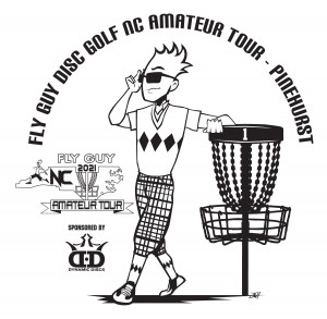 Fly Guy Disc Golf NC Amateur Tour - Pinehurst Sponsored by Dynamic Discs graphic