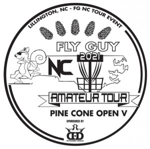 5th Annual Pine Cone Open Sponsored by Dynamic Discs graphic
