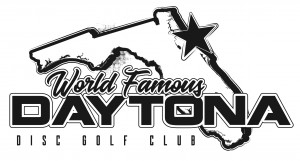 Daytona Beach Disc Golf Club Membership and 2 round event. graphic