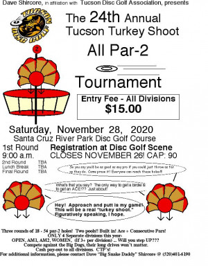 24th Annual Tucson Turkey Shoot graphic