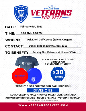 3rd Annual CCDG Veterans for Vets Tournament graphic