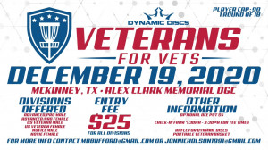 Veterans for Vets - Benefiting Homeless Veterans Service of Dallas graphic