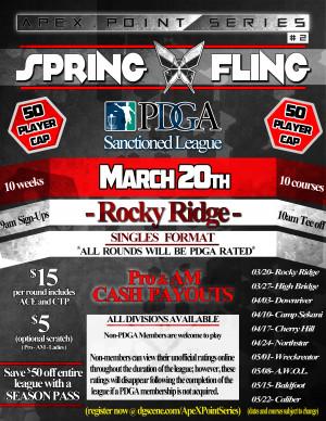Spring Fling- Rocky Ridge . ApeX Point Series #2 graphic