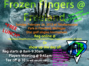 Frozen Fingers @ Freeland graphic