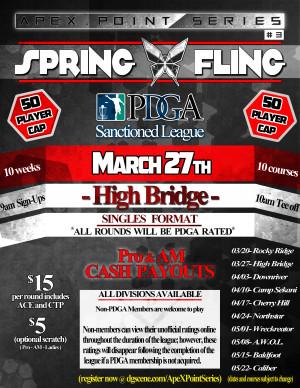 Spring Fling- High Bridge . ApeX Point Series #3 graphic